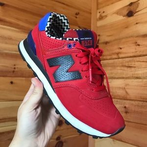 RED NEW BALANCE SNEAKERS 👟